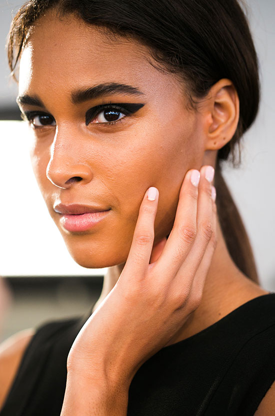 Graphic cat eye at Cushnie et Ochs Spring/Summer 2015