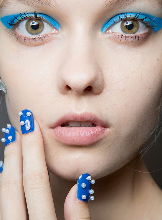 Honor Spring/Summer 2015 runway beauty