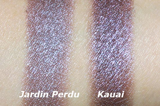 NARS Jardin Perdu Duo Eyeshadow vs. NARS Kauai Duo Eyeshadow