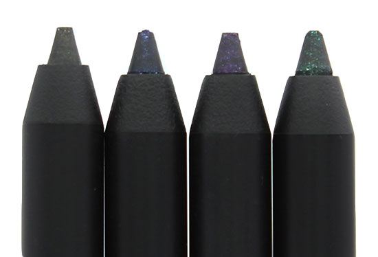 Closeup of NARS Night Series Eyeliners