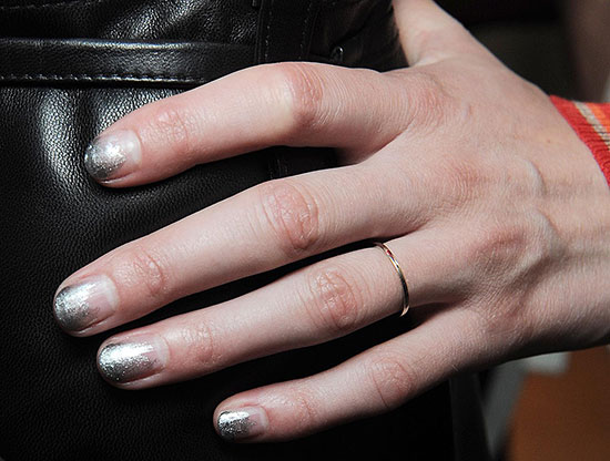 Ombre nails at Creatures Of the Wind Spring/Summer 2015