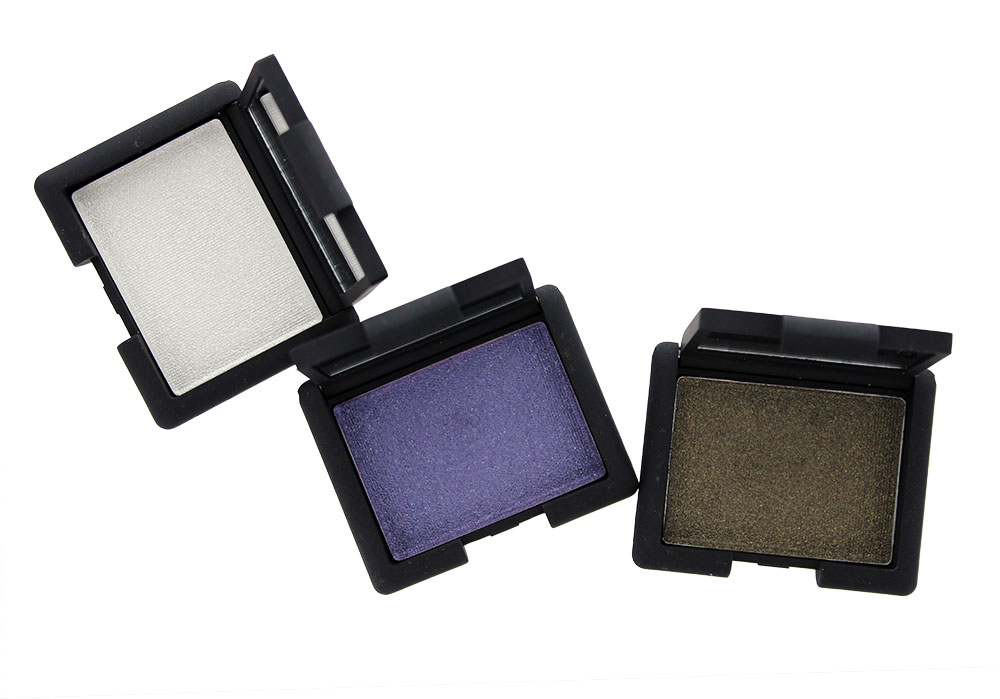 NARS Hardwired Eyeshadows in Opal Coast, Canberra and Gabon for Holiday 2014
