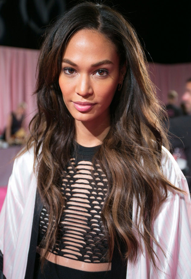 Joan Smalls at 2014 Victoria's Secret Fashion Show