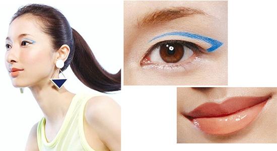 Shiseido 2020 Makeup Trend Report - Sporty Pop