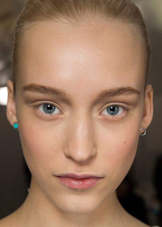 Luminous skin at Christian Dior Spring 2015 Couture