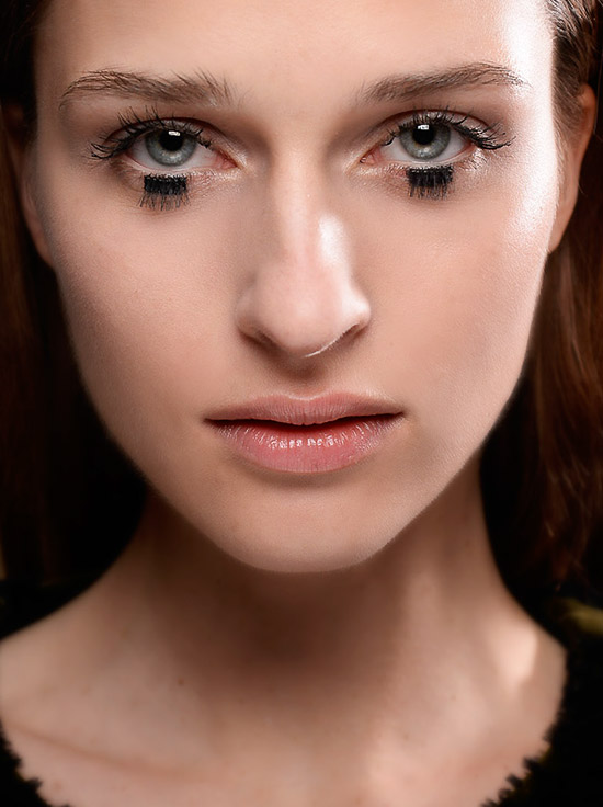 Doll like lash at Mary Katrantzou A/W 201