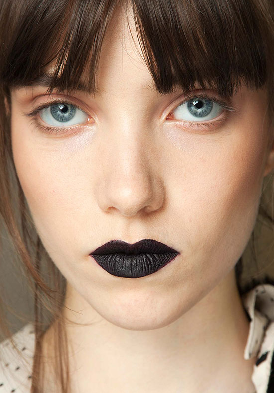 Giles A/W 2015 runway beauty