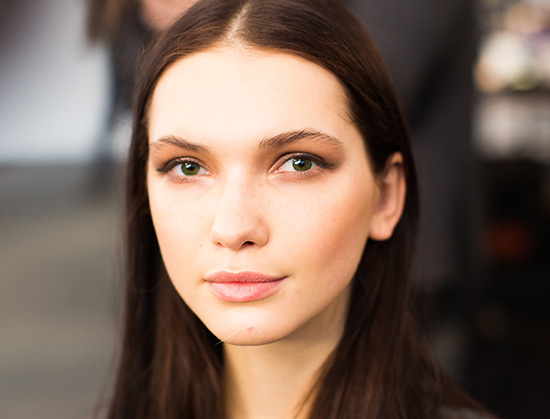 Marissa Webb A/W 2015 runway beauty