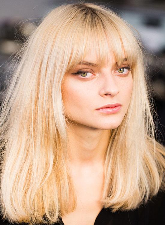 Marissa Webb A/W 2015 runway makeup by Maybelline