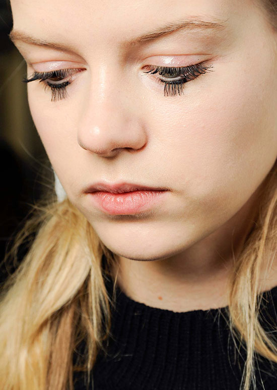 Mary Katrantzou A/W 2015 runway beauty
