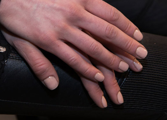 Nude nails by JINSoon at Rag & Bone A/W 2015