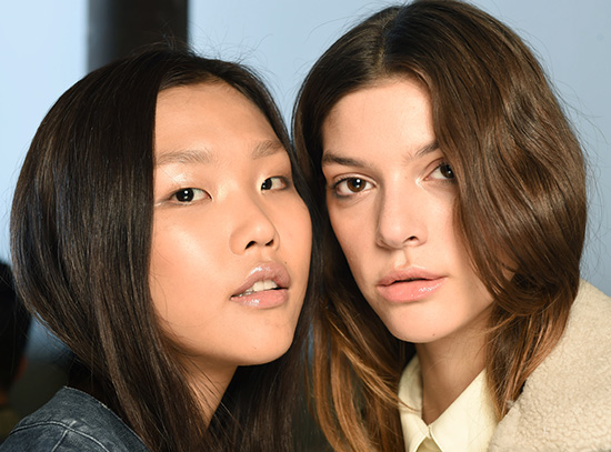 Rachel Comey A/W 2015 runway beauty