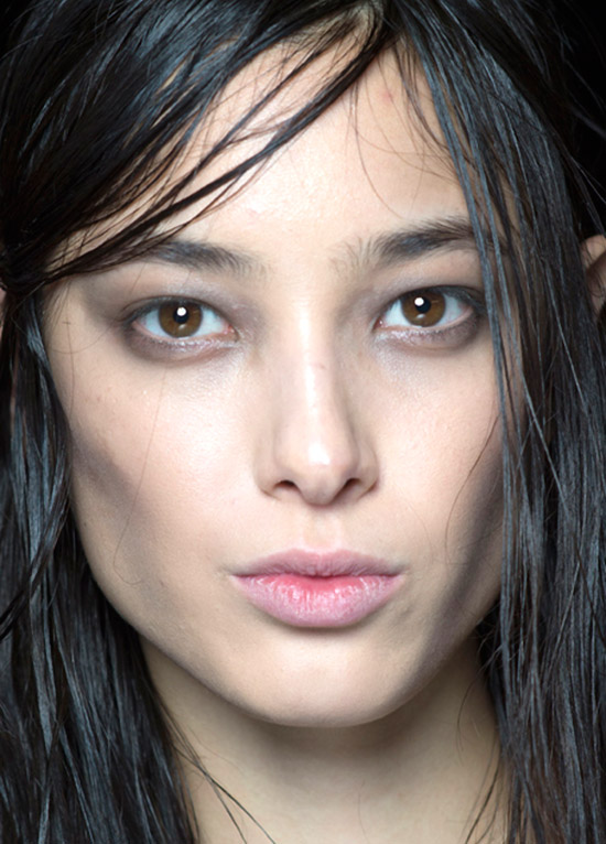 Rock n roll makeup at Alexander Wang A/W 2015