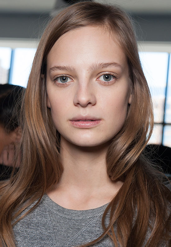 Soft wavy hair at Jason Wu A/W 2015