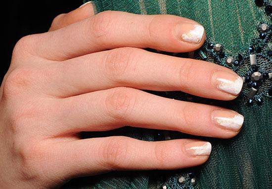 Tadashi Shoji A/W 2015 runway nails by butter LONDON