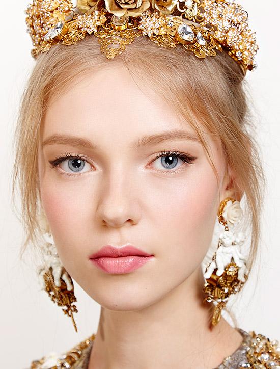 romantic-makeup-dolce-gabbana-spring-2016