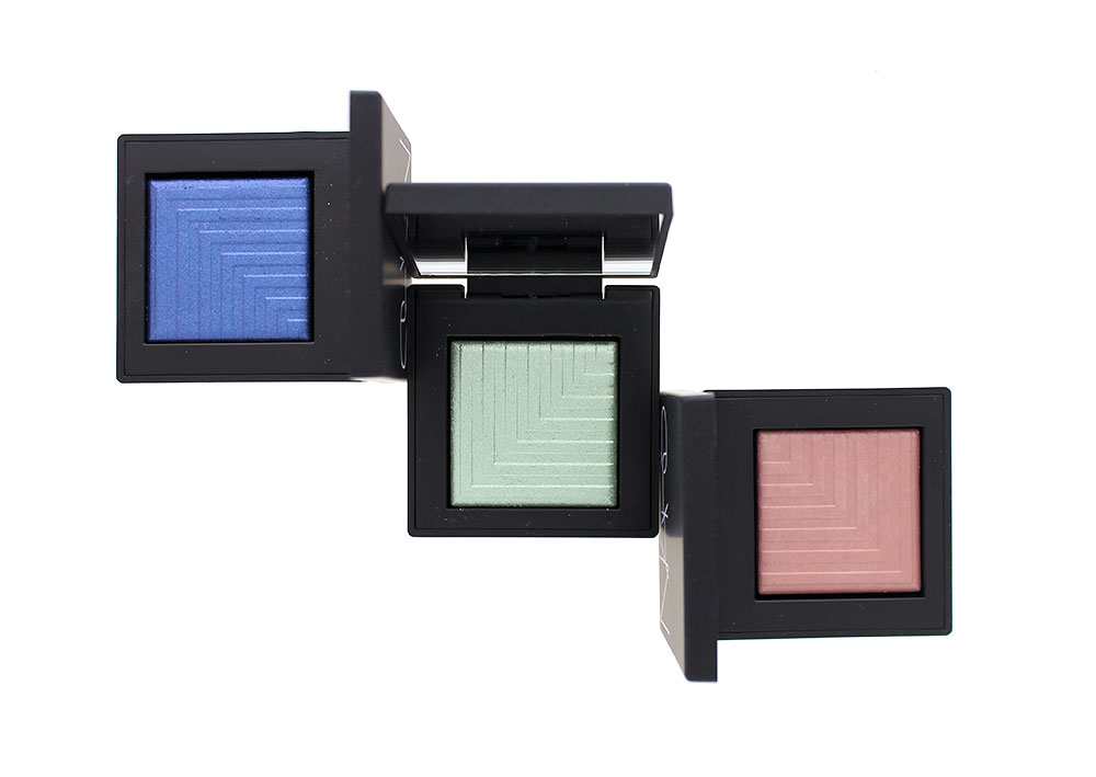 NARS Spring 2016 Nouvelle Vogue Color Collection Dual-Intensity Eyeshadows in Cressida, Tarvos and Kari