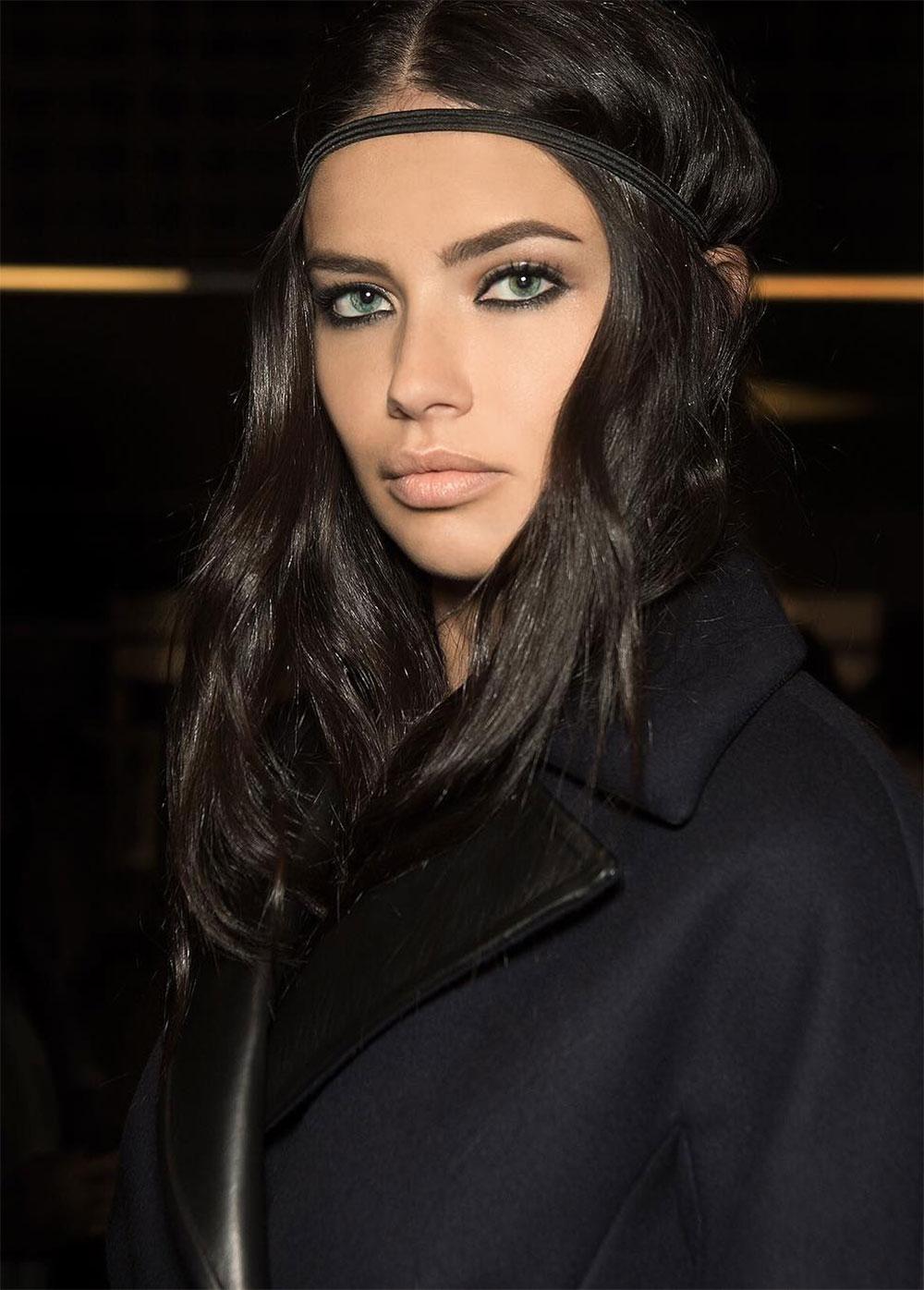 Adriana Lim at Versace A/W 2016