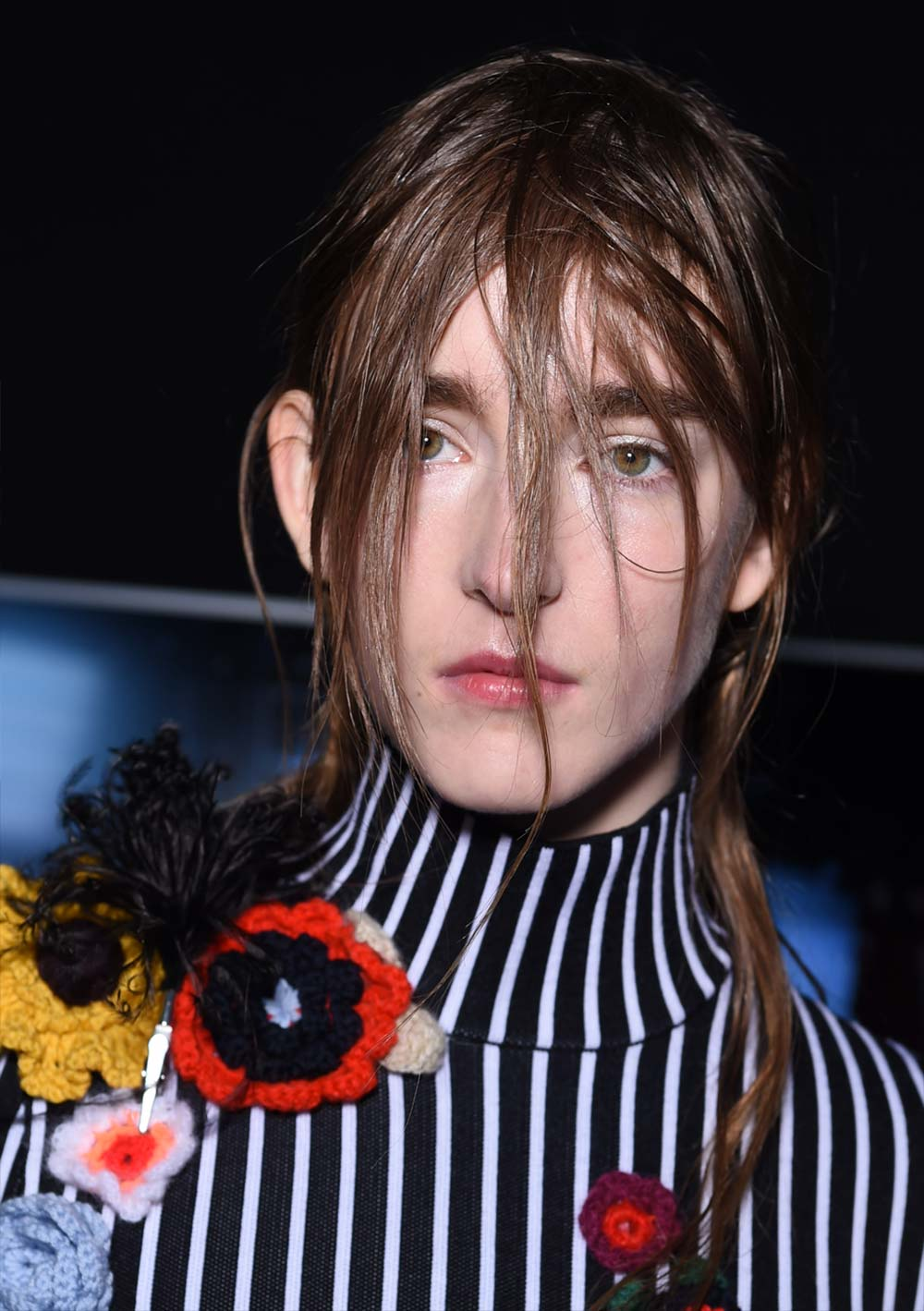 Fresh faced beauty at Christopher Kane A/W 2016