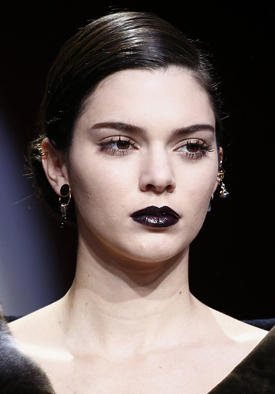 Kendall Jenner at Dior A/W 2016