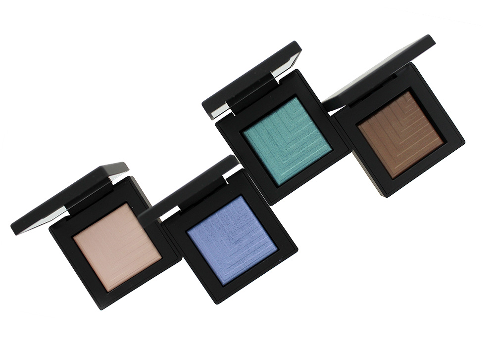 NARS Summer 2016 Topless, Pool Shark, Deep End and Tan Lines Dual-Intensity Eyeshadows