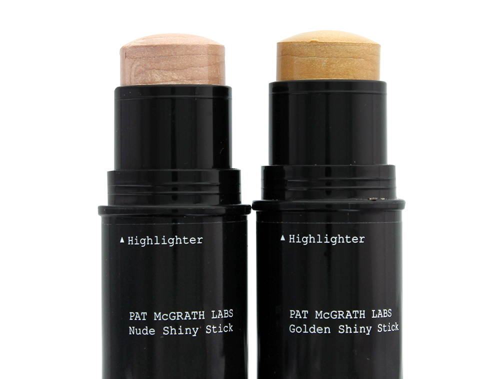 Pat McGrath Labs Skin Fetish 003 Nude and Golden Shiny Stick highlighter + balm duos