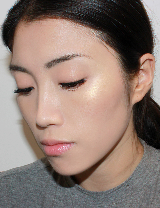 Wearing Pat McGrath Labs Skin Fetish 003 Fine Gold 003 Pigment