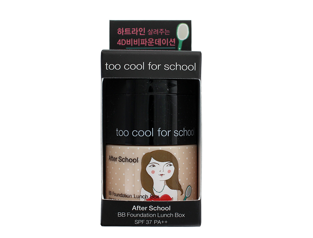 Too Cool For School After School BB Foundation Lunch Box in No. 2 (#23) Watery Skin