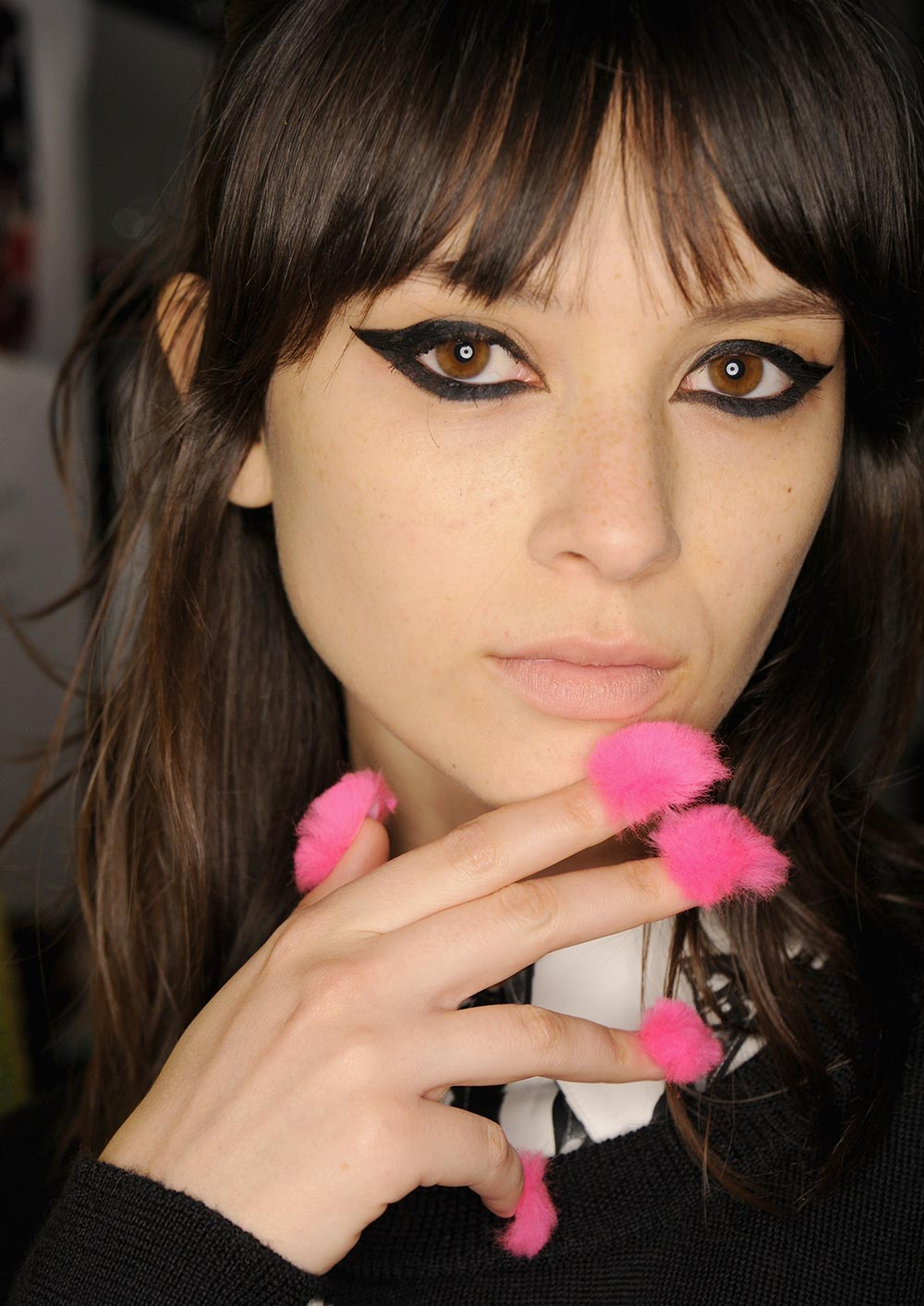 fuzzy-pink-nails-libertine-spring-2017