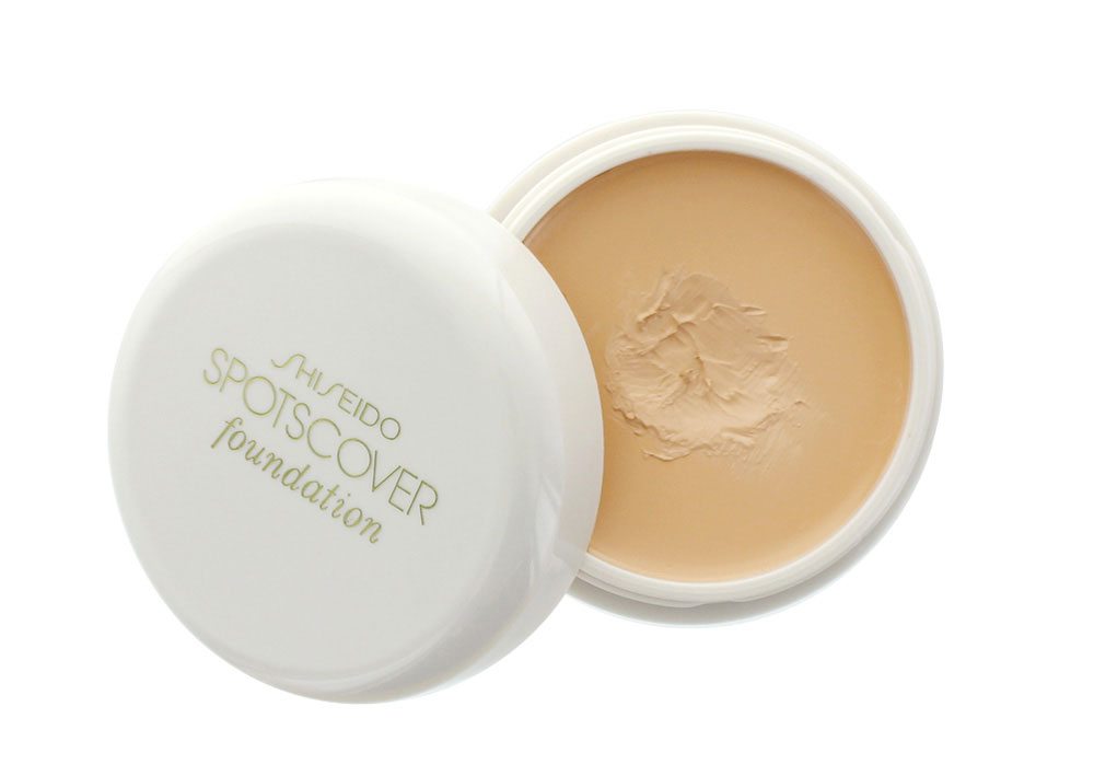 Shiseido Spotscover Foundation Review and Swatches