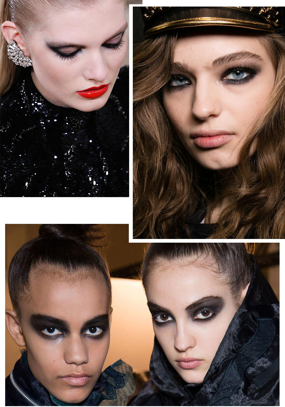 Smoky eye makeup trend Fall 2016