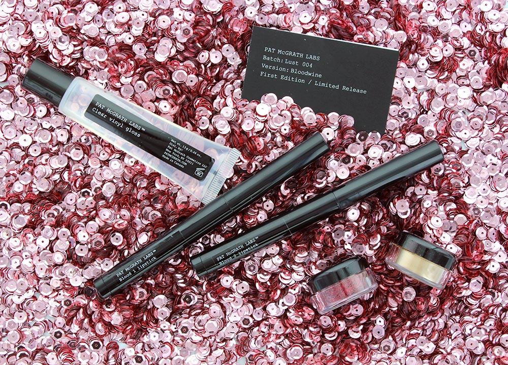Pat McGrath Labs Lust 004 Bloodwine Lip Kit review