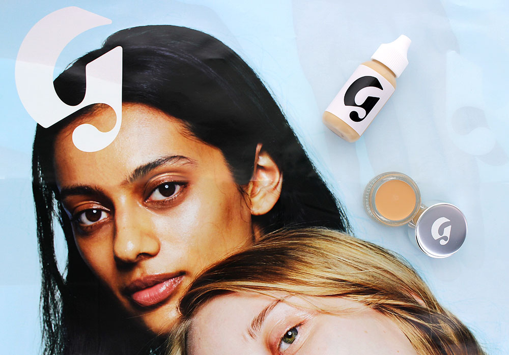 Glossier Perfecting Skin Tint and Stretch Concealer