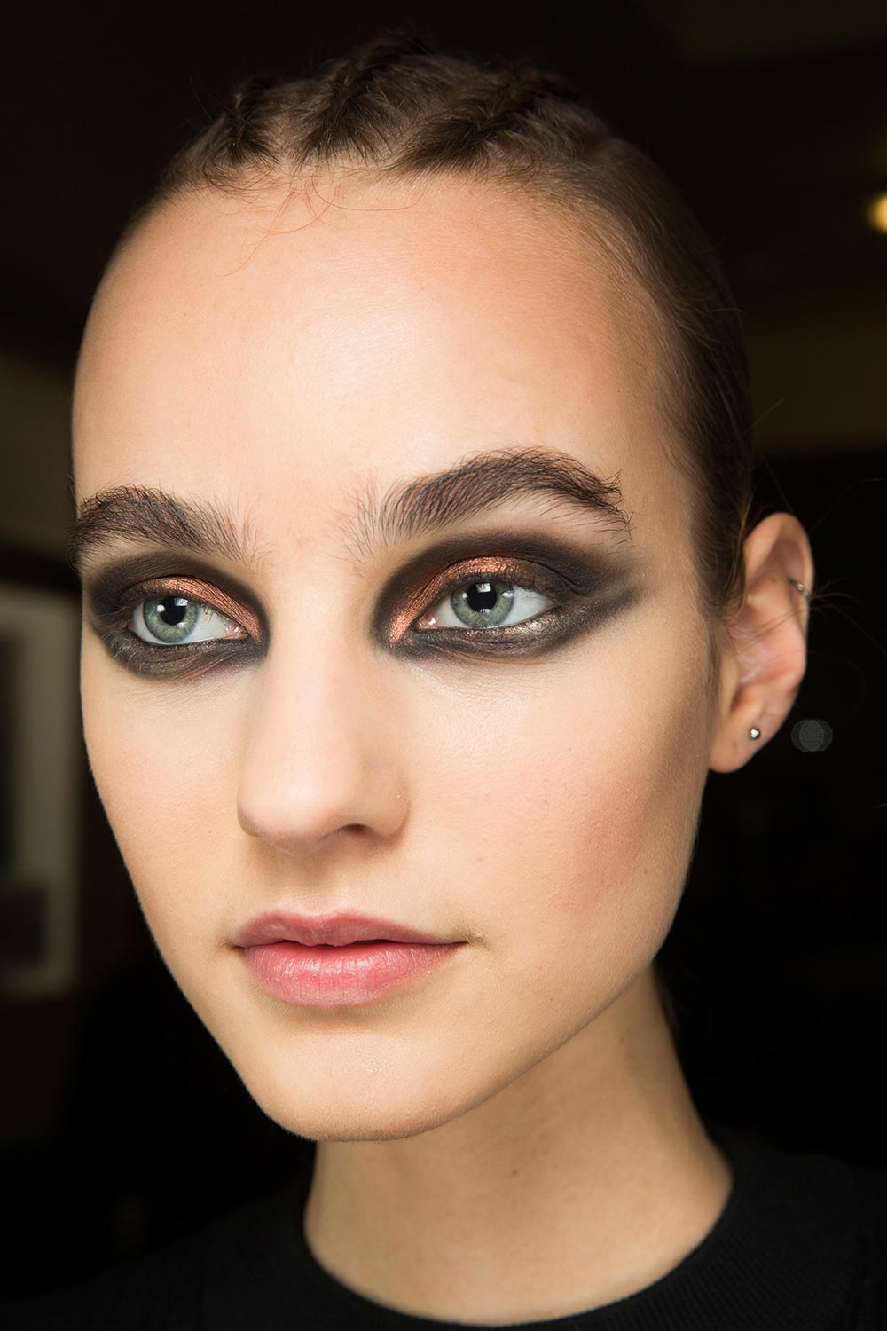 Runway Beauty: Metallic Copper at Balmain A/W 2017 ...