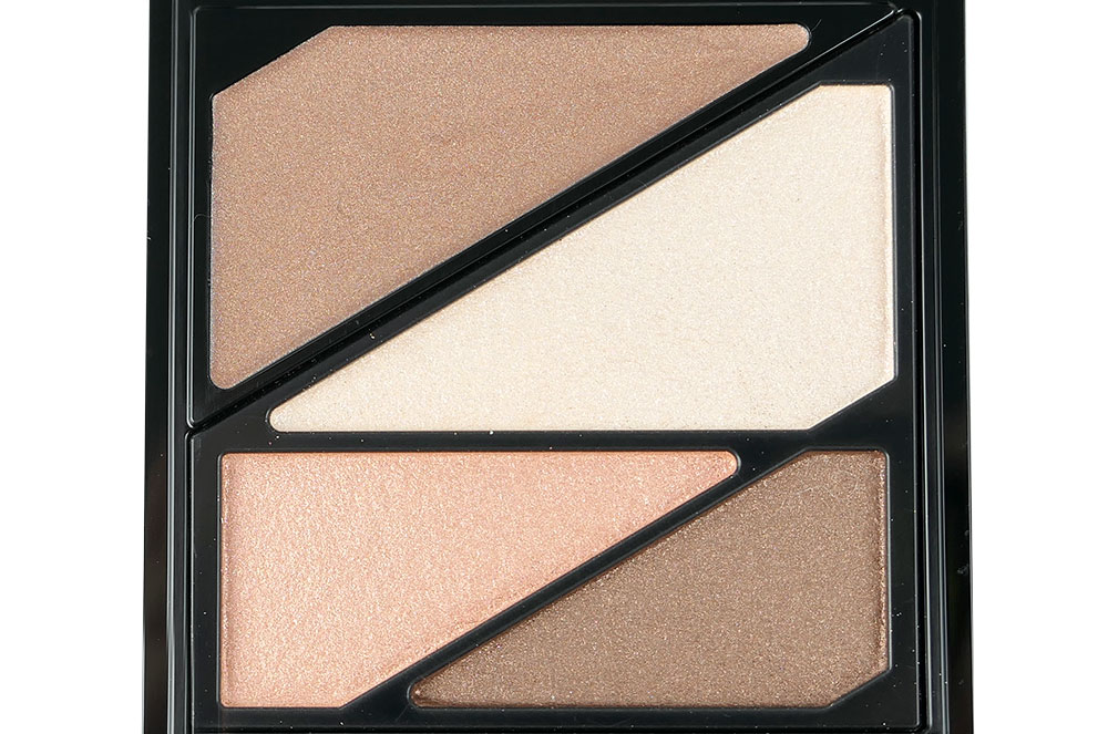 Closeup of Kate Dark Night Glow Eyeshadow Palette in PK-1