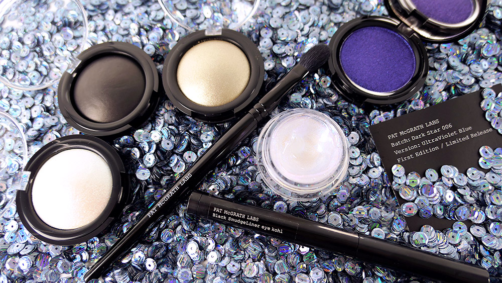 Pat McGrath Labs Dark Star 006 UltraViolet Blue Kit review