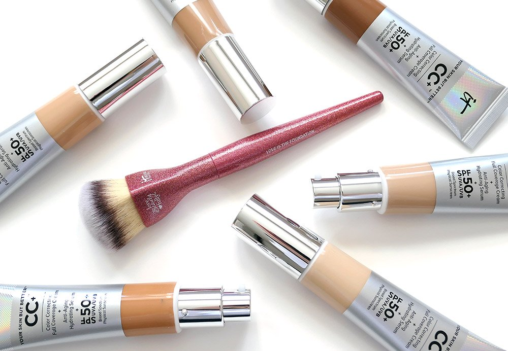 IT Cosmetics Love is the Foundation Brush giveaway for #ITCCchallenge