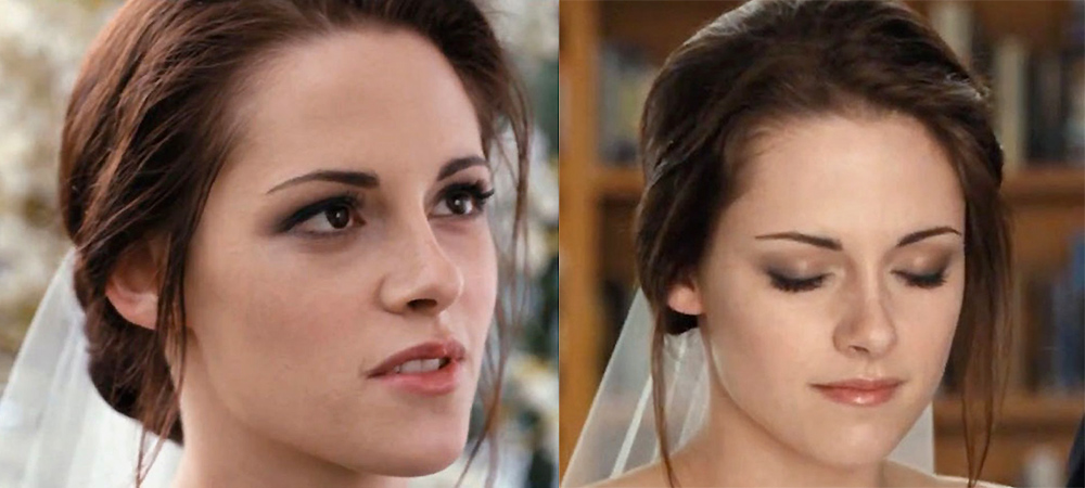 Bella Swan S Bridal Makeup In The Twilight Saga Breaking Dawn Part 1